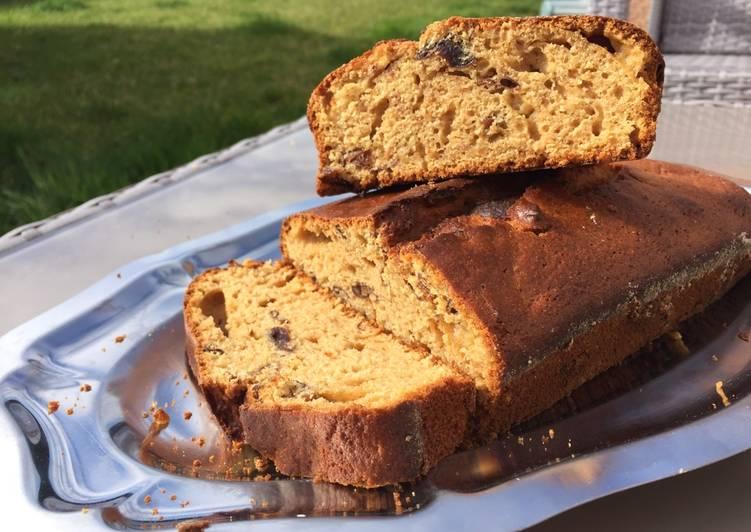 Recette: Gâteau au yaourt aux prunes d'ente