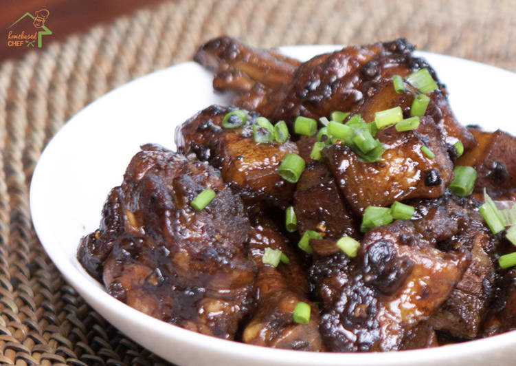 Recipe of Super Quick Homemade Chicken and Pork Adobo