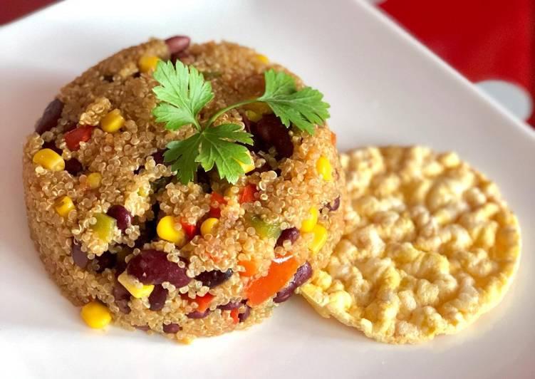 Quinoa mexicana vegano🌱vegetariana