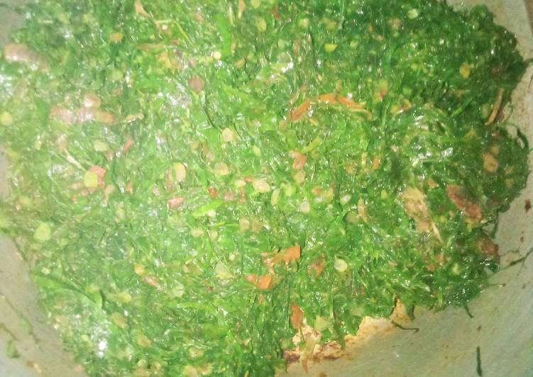 Recipe of Super Quick Homemade Collard greens(sukuma wiki)