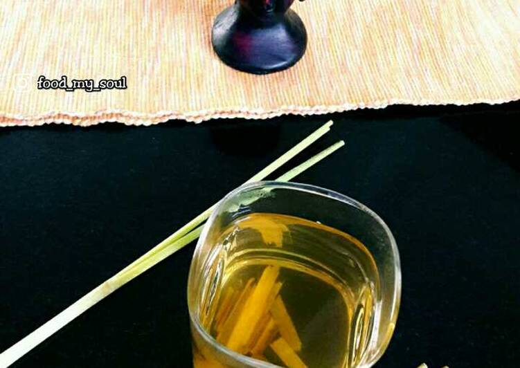 Easiest Way to Prepare Ultimate Lemongrass Tea