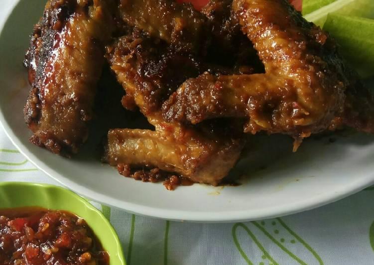 Resep 230 Ayam Bakar Bumbu Kacang Oleh Hartini S Kitchen