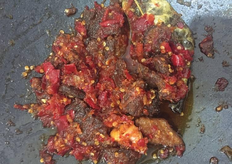 Daging sambalado manis