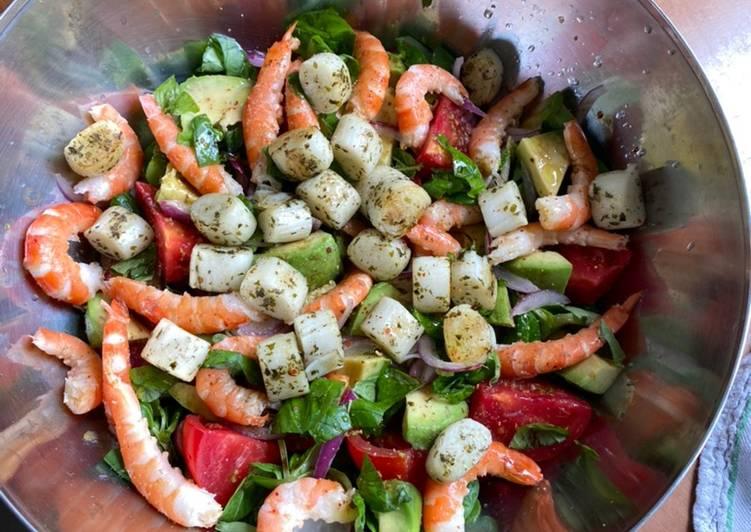 Comment Cuisiner Salade pêcheur et fraîcheur