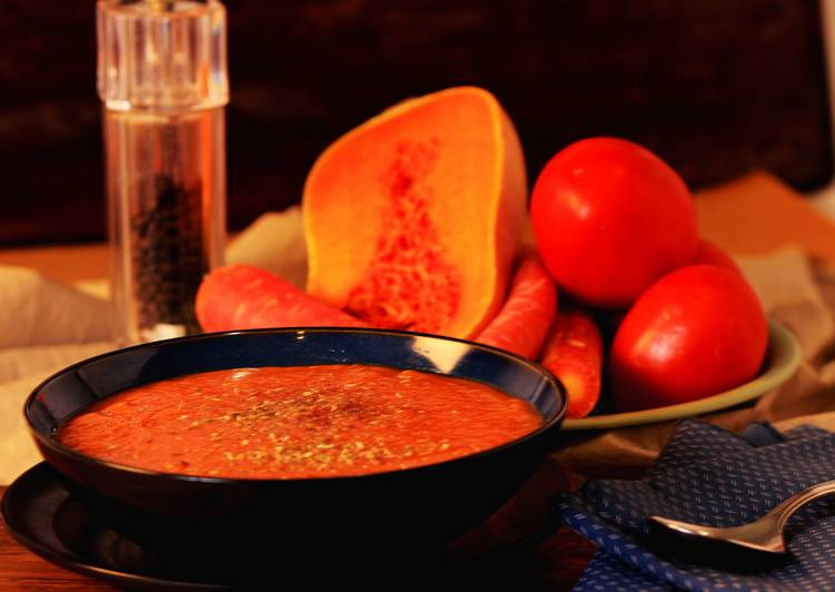 Recipe of Quick Autumn soup with Butternut Squash