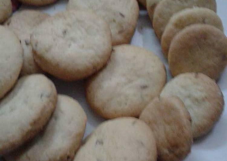 How To Make Quick Zeera Biscuits Cookandrecipe Com