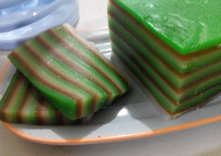 Resep Kue Lapis Tepung Beras Oleh Teh Atiek Cookpad