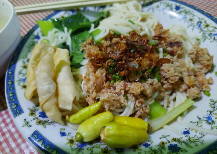 Resep Cwiemie / Mie Ayam Cincang yang Lezat