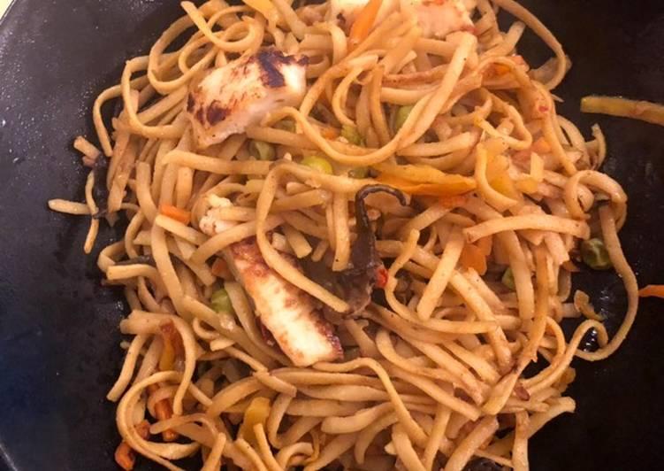 Recipe: Perfect Wok de poulet