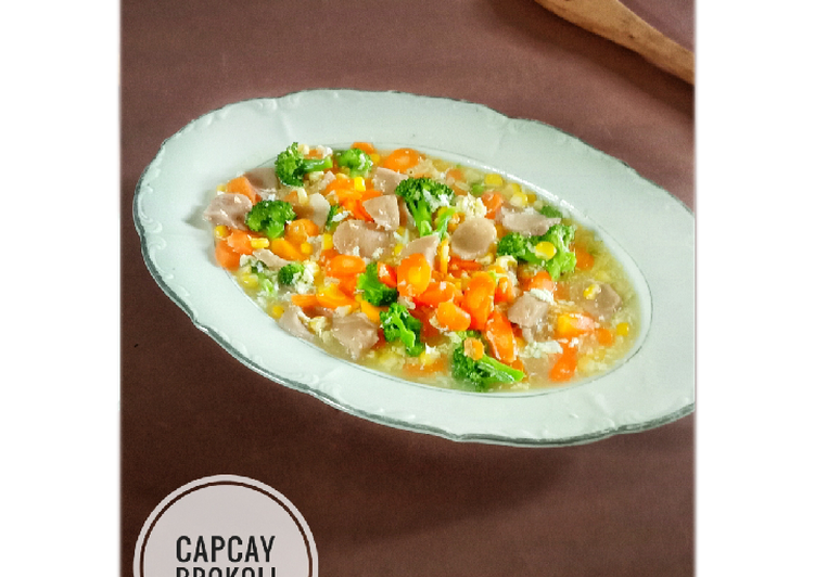 Capcay Brokoli