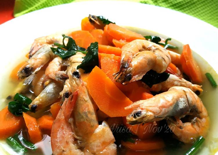 Resep Sup Udang Yang Lezat