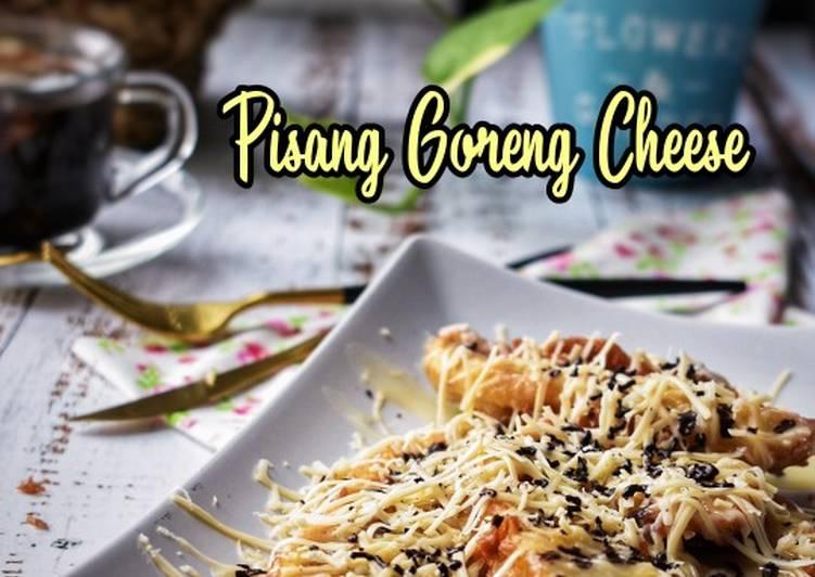 Pisang Goreng Cheese - resepipouler.com