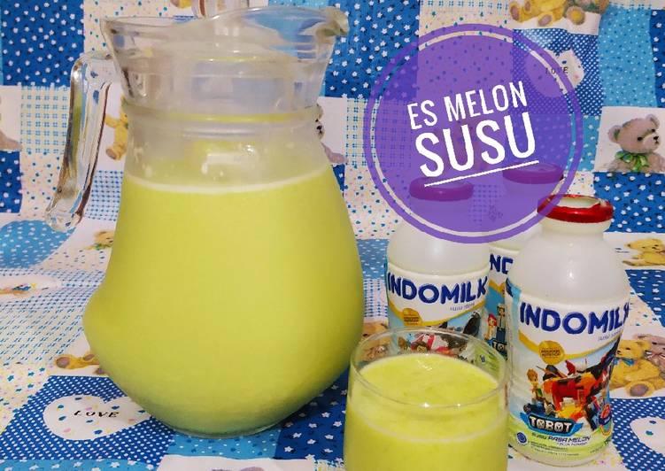 Es Melon Susu