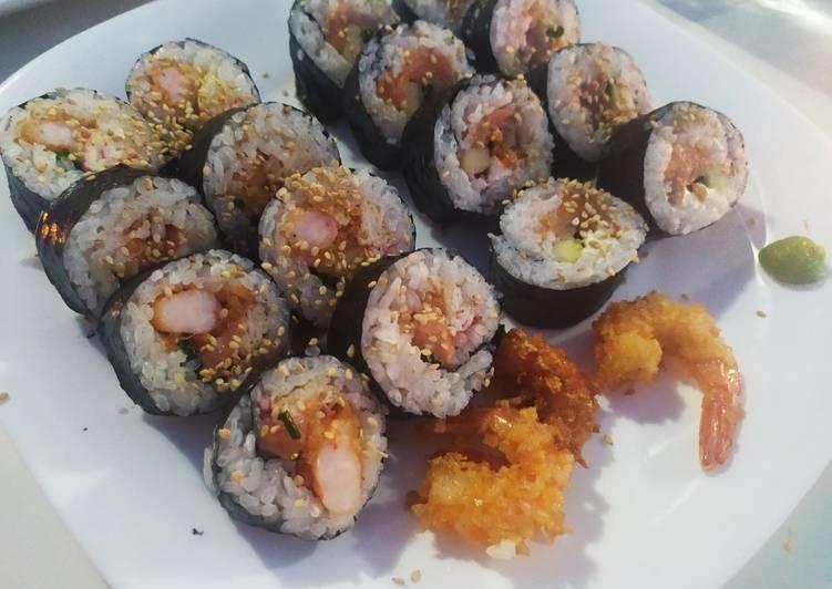 Sushi variado 🥑🍤🍱🍙🍣