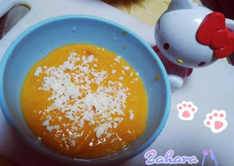 MPASI Pumpkin Cheese Puree