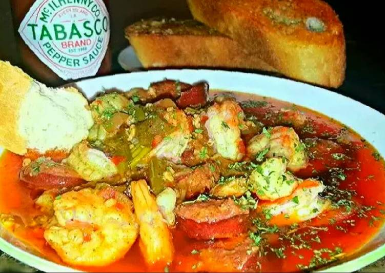 Mike's Shrimp Creole & Bayou Swamp Sauce