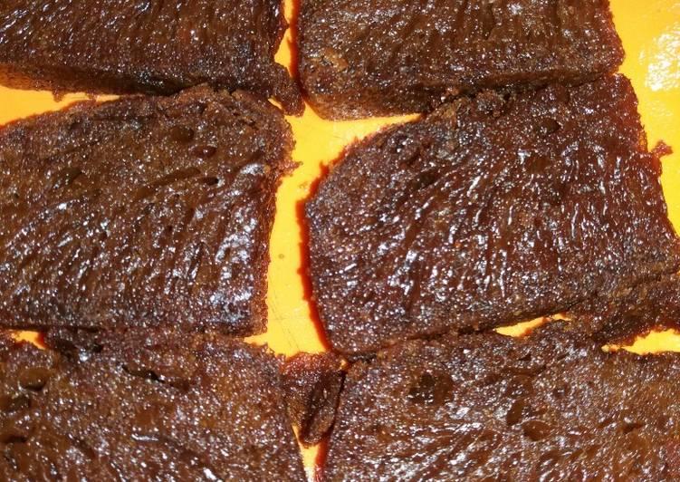 cara bikin Bolu karamel sarang semut takaran gelas - Sajian Dapur Bunda