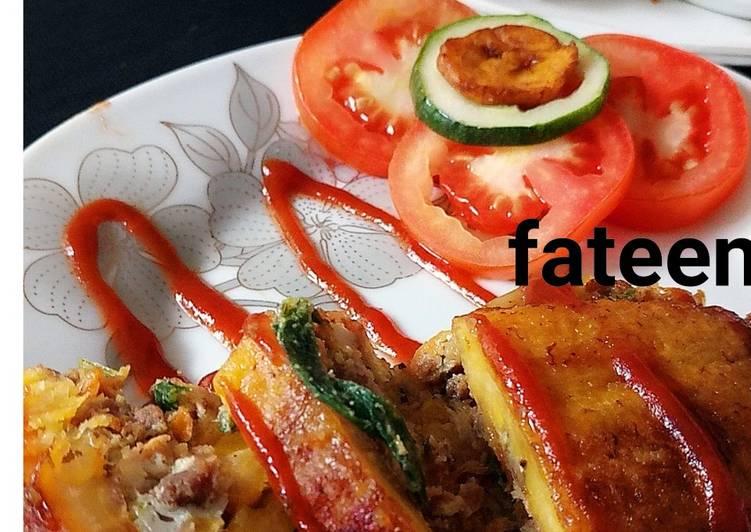 Recipe of Ultimate Plantain lasagna