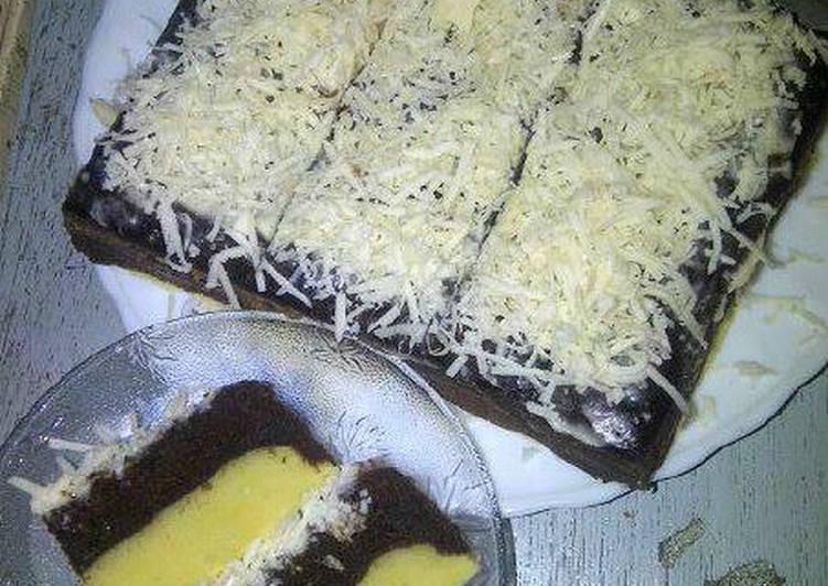 Brownies kukus durian