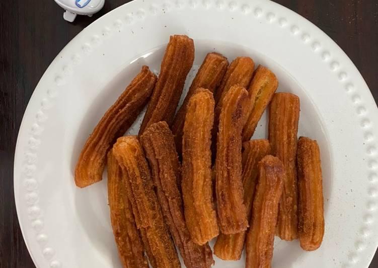 Cemilan Churros Sweet Cinnamon Anti Gagal tapi Enak!♥️