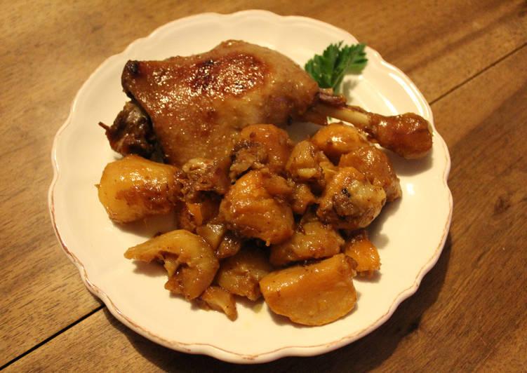 Recette Des Canard aux légumes d'hiver