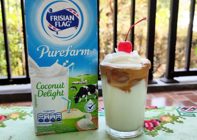 DALGONA COFFEE coconut delight