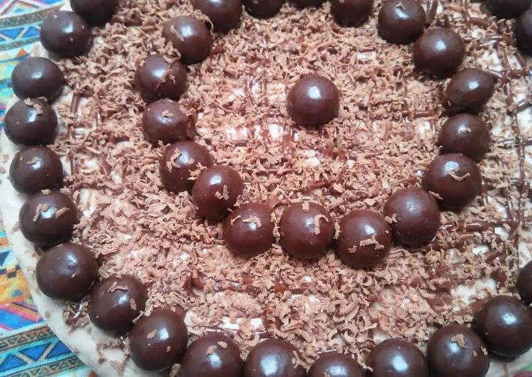 No Bake Chocochic ChesseCake - cookandrecipe.com