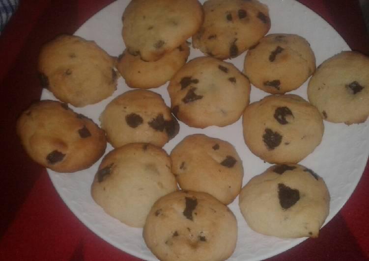 Cookies chocolat sans beurre