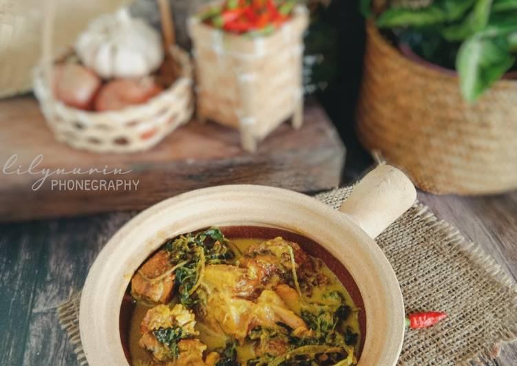 Ayam salai masak lemak bersama maman - velavinkabakery.com