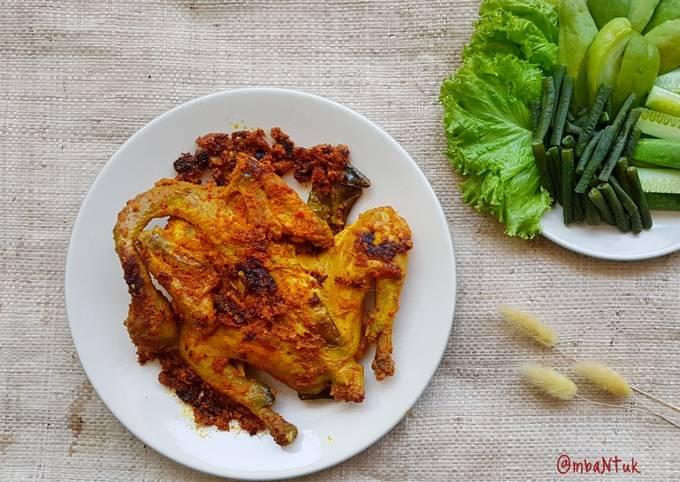 Cara memasak Ayam Bakar Bumbu Padang yang sedap dan Mudah Dibuat