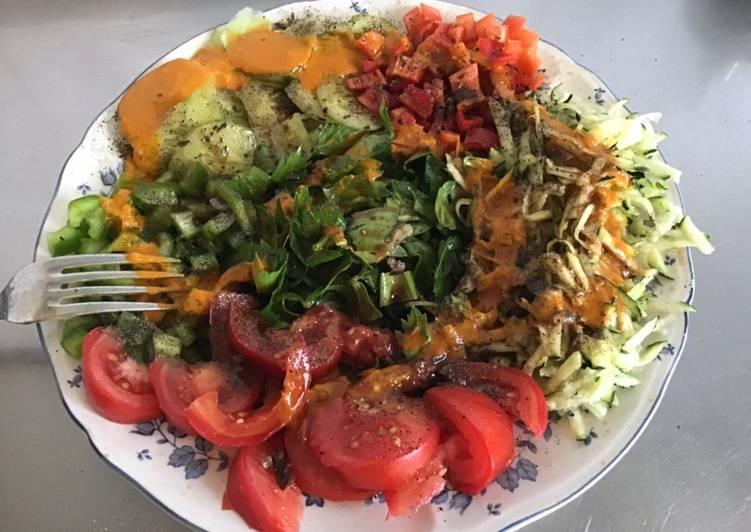 Les 11 Meilleures Recettes de Salade composée sauce au curcuma