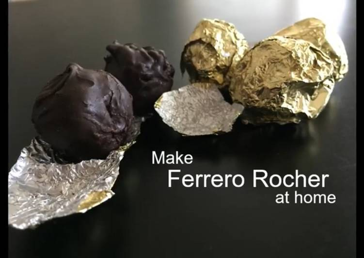Make Ferrero Rocher at home using simple ingredients