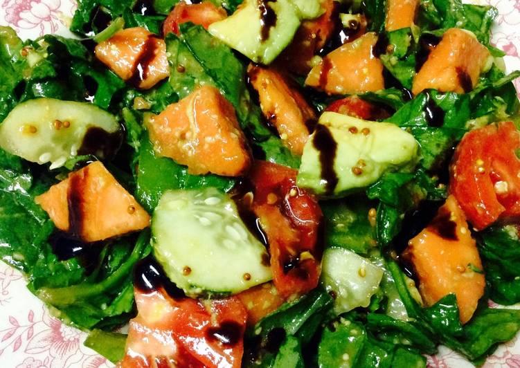 Ensalada Detox vegana/vegetariana