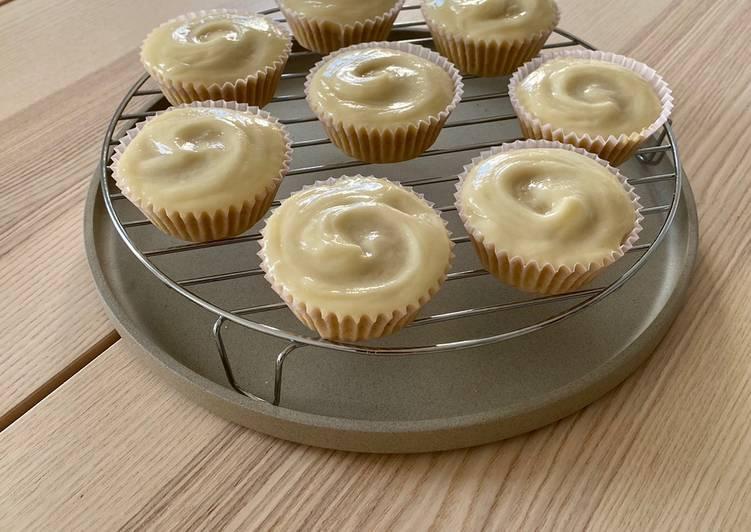 Vegane Limetten Cupcakes