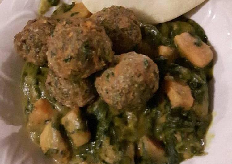 Garam masala meatballs