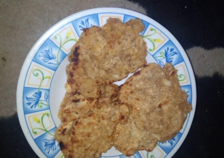 Oats pancake (bayi 1 tahun ke atas)