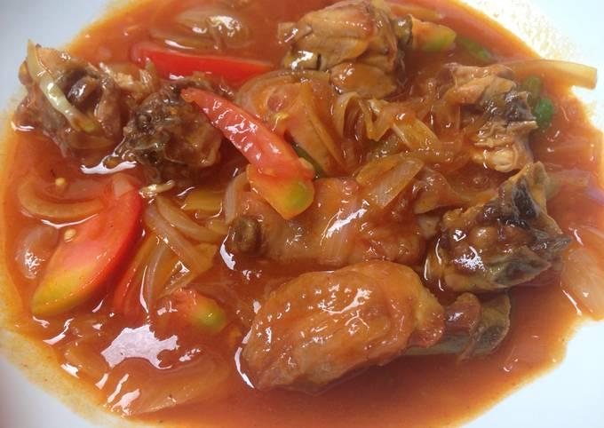 Resep Ayam Saus Padang Oleh Dyndraaa Cookpad