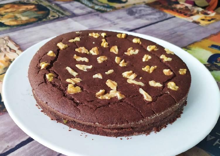 Tarta de chocolate fit