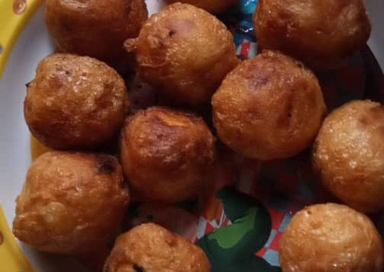 15 Minute Recipe of Vegan Yam balls