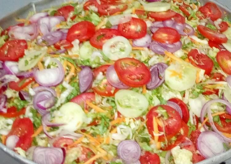 Recipe: Perfect Steak salad
