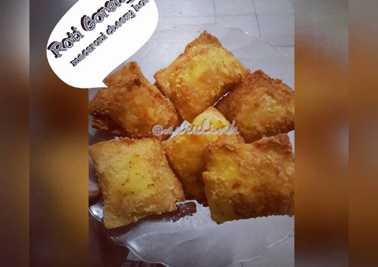 resep roti goreng macaroni cheezy hot menggugah selera dapur masakan Resepi Makaroni Goreng dan Sedap Enak dan Mudah