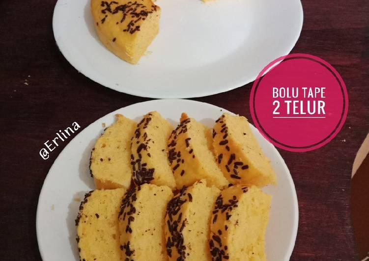 Bolu Tape 2 Telur - cookandrecipe.com