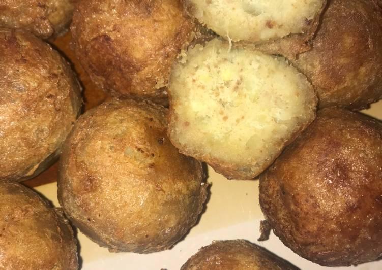 How to Make Super Quick Homemade Sweet potato balls