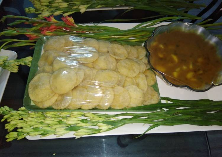 Recipe of Top-Rated Club kachori with aloo ki sabji