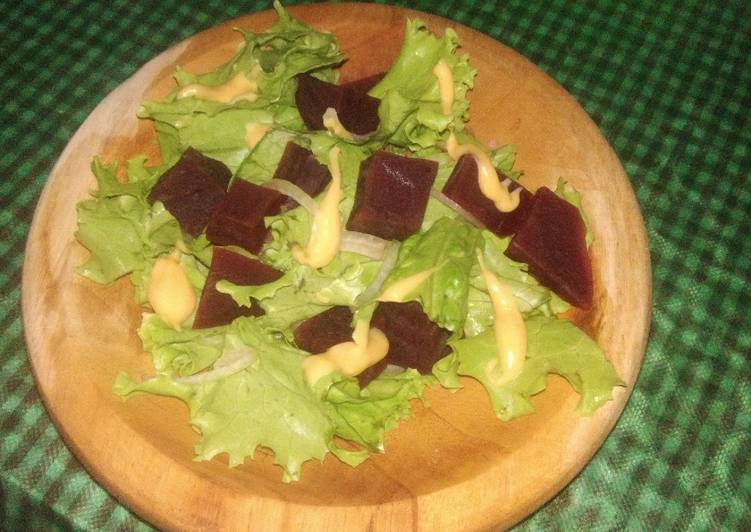 Easy Beetroot Salad