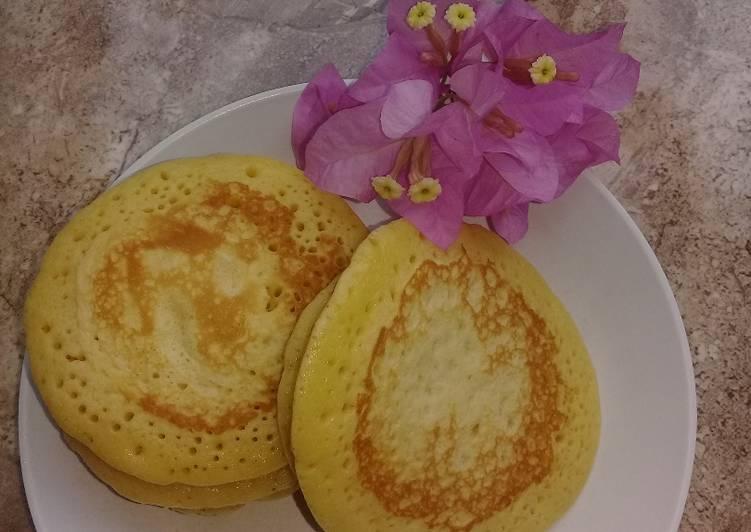 Resep Pancake lembut dan simple (takaran sendok) Paling Top