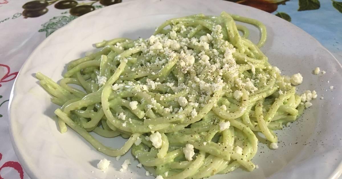Spaguetti Verde 451 Recetas Caseras Cookpad