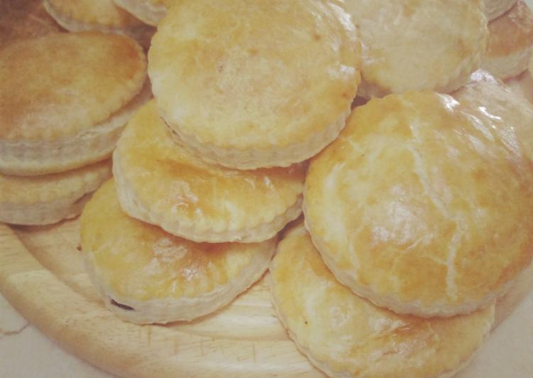 Empanadas de picadillo dulce
