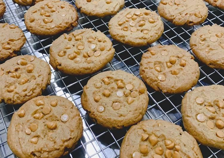 Peanut Butterscotch Chip Cookies