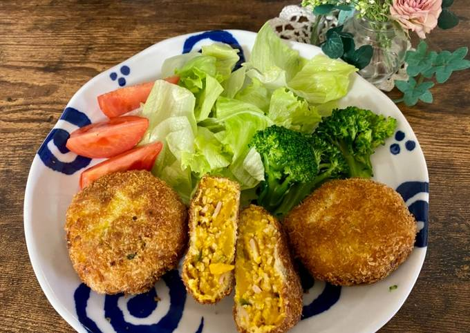 Simple Way to Make Speedy Pumpkin Croquettes